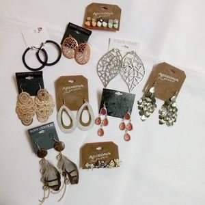 Fashion Earrings Bundle 10 Pair Chandelier BN7